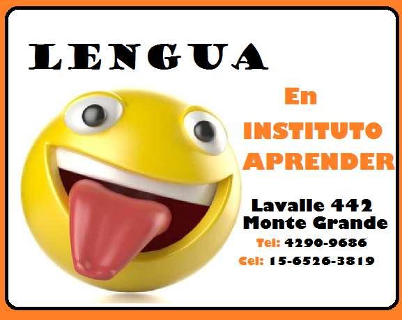 Apoyo escolar de lengua y literatura Monte Grande