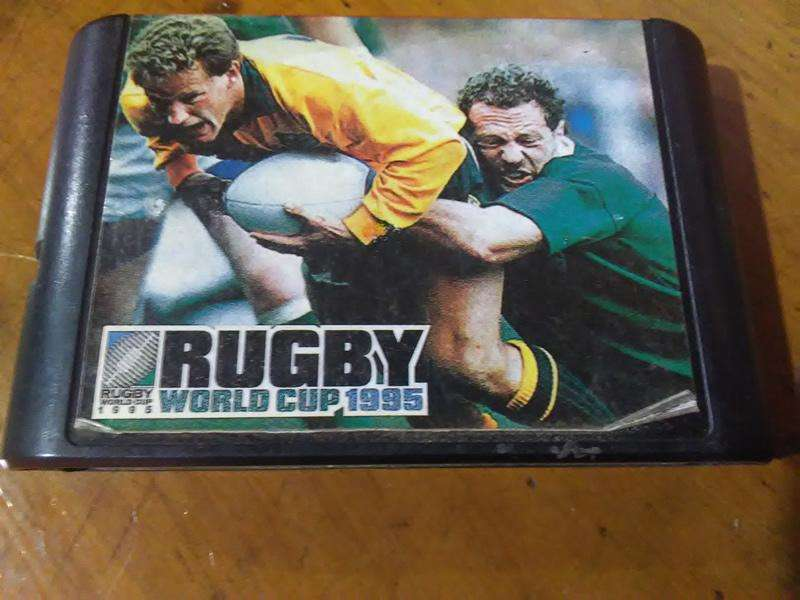 Rugby World Cup 1995 Sega Juego De Rugby
