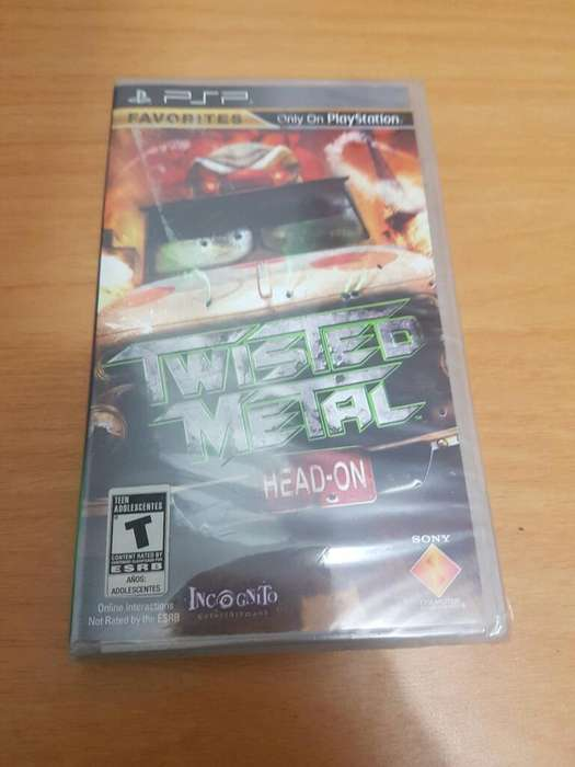 Twisted Metal Psp Sellado