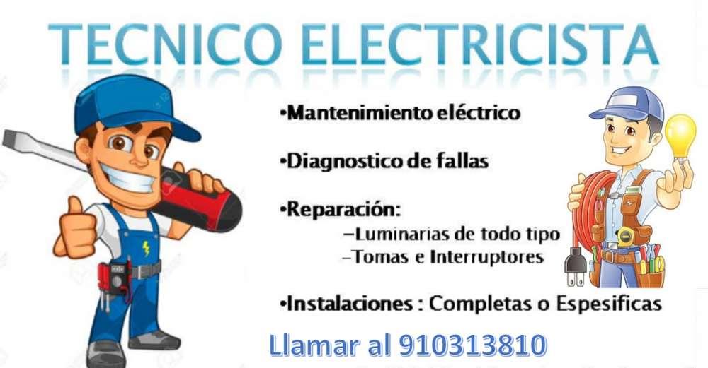 SERVICIO TECNICO EN ELECTRICIDAD