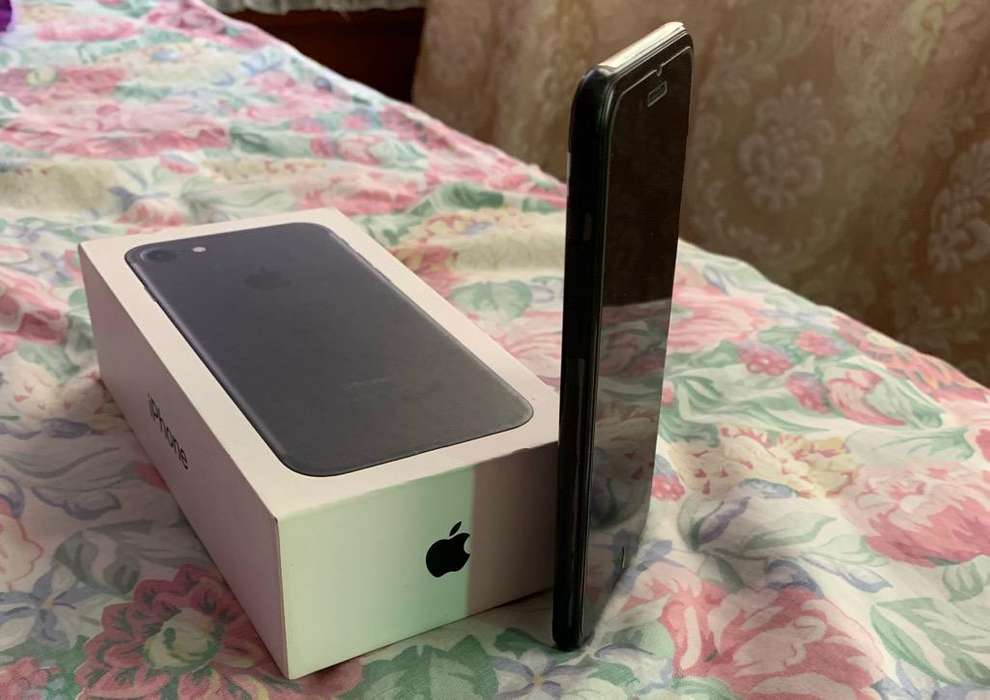 iPhone 7 128Gb Mate Negro Impecable