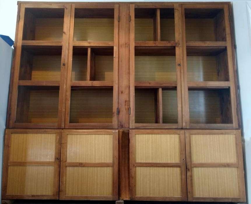 Biblioteca / Estantería (GRANDE) de madera