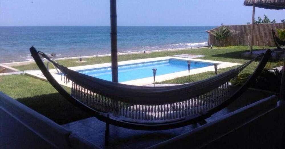 VENDO, casa en Cancas, Canoas de Punta Sal (Casa Dpto. con piscina)