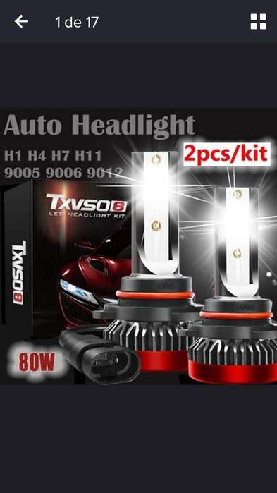 Luces Led 2pcs