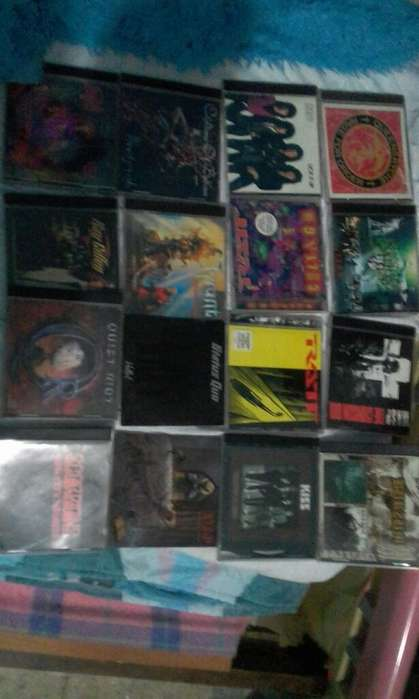 Cds Lote Rock Originales