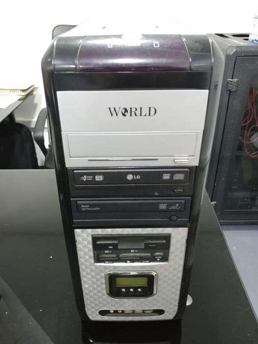 PC Escritorio, Board MSI K9VGM-V, AMD Athlon 64 3500, RAM 2gb DDR2 800mhz, Disco SATA 164gb 7200rpm