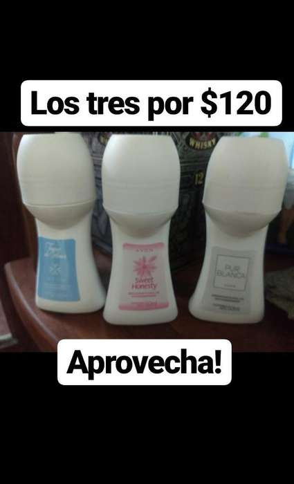Desodorantes Antitranspirante Bolilla