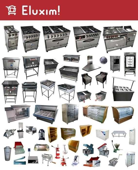 EQUIPAMIENTOS COMERCIALES cocinas,hornos,etc.
