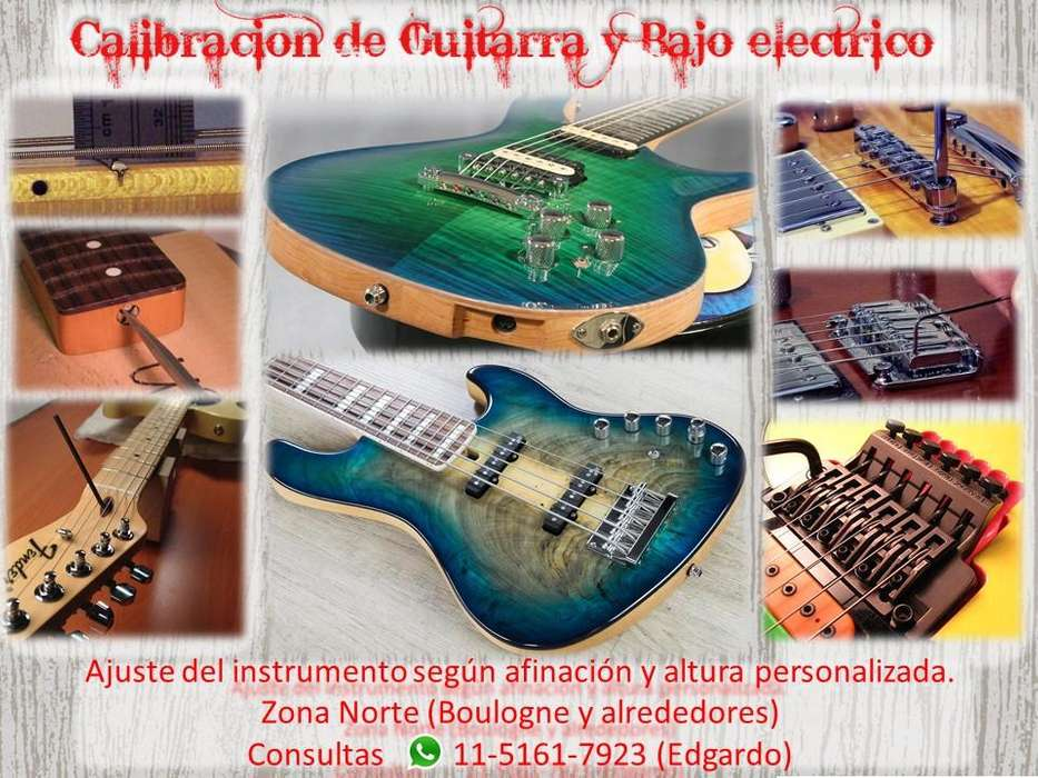 Calibración de Bajo y Guitarra eléctrica