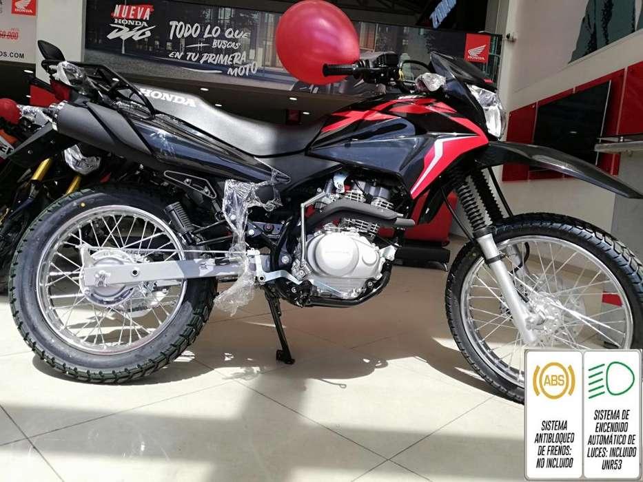 Xr 150l Modelo 2020 Negra con Rojo