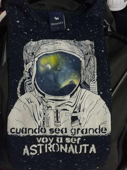 Camiseta Mangas Largas Varón