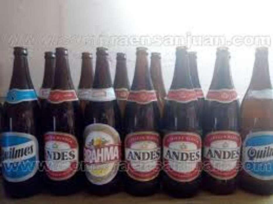 Vendo Envases de Coca Y Cerveza
