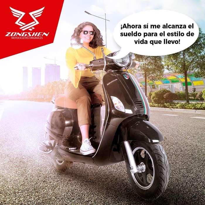 ZONGSHEN MILANO 125cc. 9.11hp potente rapida y elegante