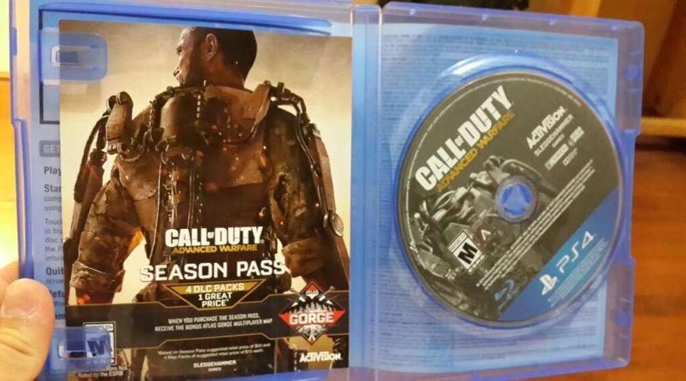 Call Of Duty Advanced Warfare Ps4