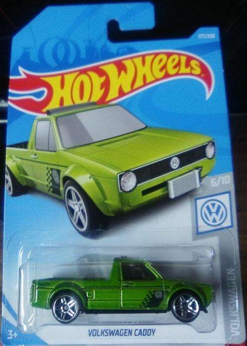 Hot Wheels Camioneta VW Volkswagen Caddy