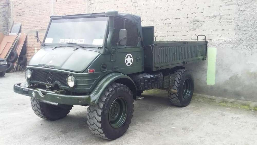 Vendo Camion 4 x 4 (mercedes benz)