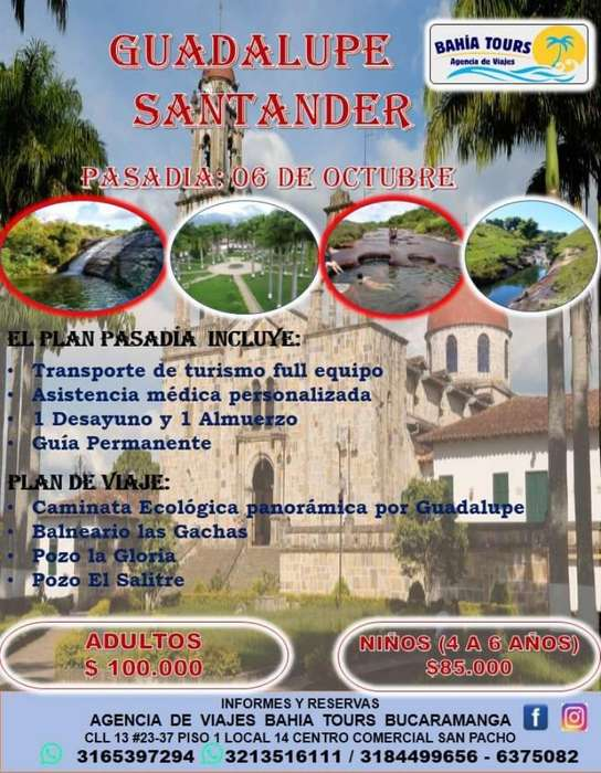 Tour Guadalupe Octubre 6