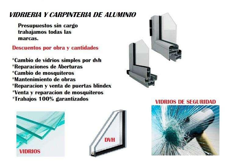 VIDRIERIA Y CARPINTERIA DE ALUMINIO OFERTAS