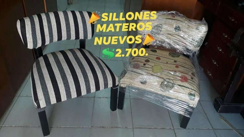SILLONES MATEROS NUEVOS COLORES A ELECCION