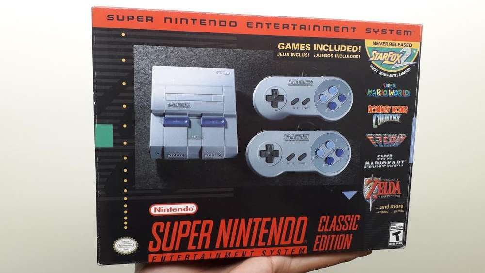 Snes Mini Super Nintendo Classic Edition