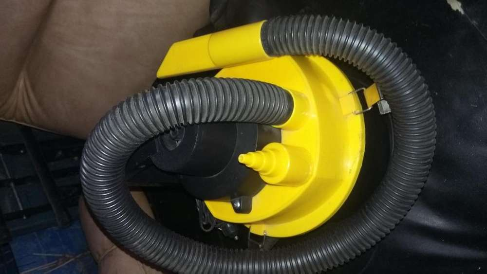 Aspiradora e inflador de 12v 120w ideal para el auto