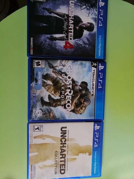 Ghost recon breakpoint y Saga Uncharted