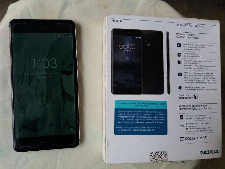 Vendo Celular Nokia 6 Estado 9 a 10