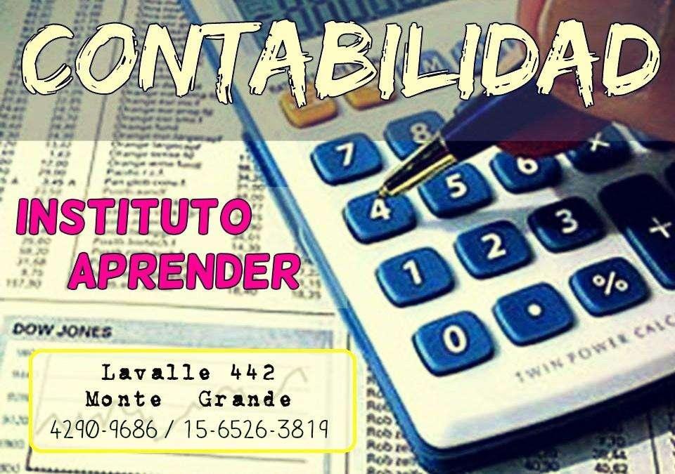 CONTABILIDAD, CLASES DE APOYO EN MONTE GRANDE