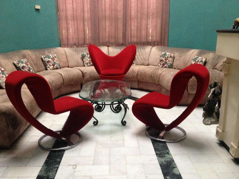 Hermosa y moderna sala importada a la venta