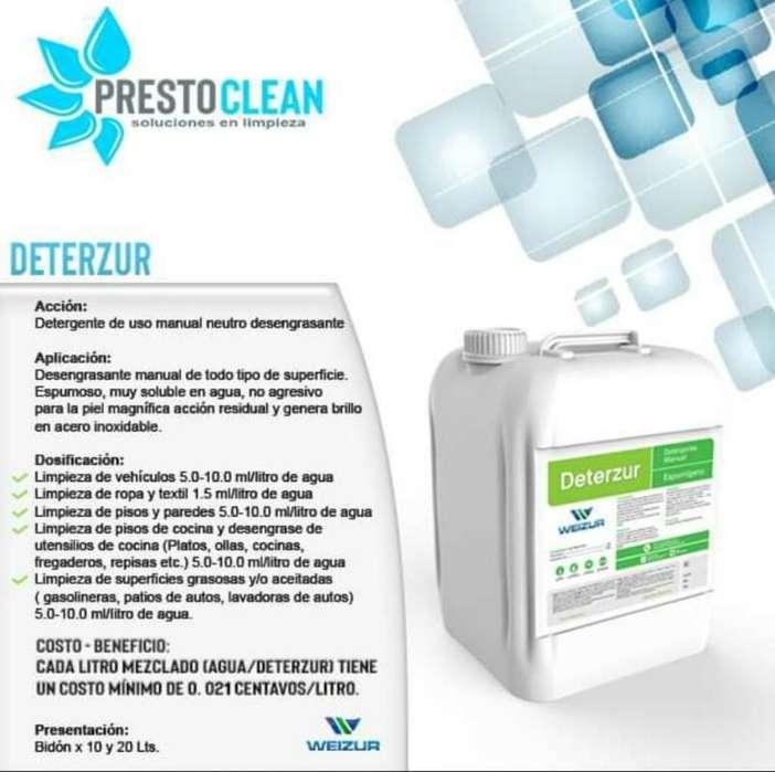 Detergente Neutro Desengrasante