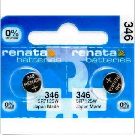 Baterías x 10 Renata 346 Sr712sw 1.55v