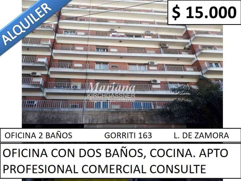 Oficina en alquiler en Lomas de Zamora Oeste