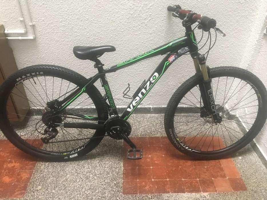 Bicicleta Venzo Spark Rin 29 Negociable