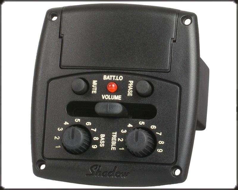 Shadow SHECO Nfx Microfono Piezo Electrico Preamp Eq