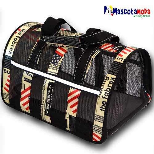 Bolso maleta de transporte para viaje con perro o gato avion y auto