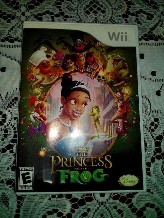 Juego Nintendo Wii Princesa Y El Sapo