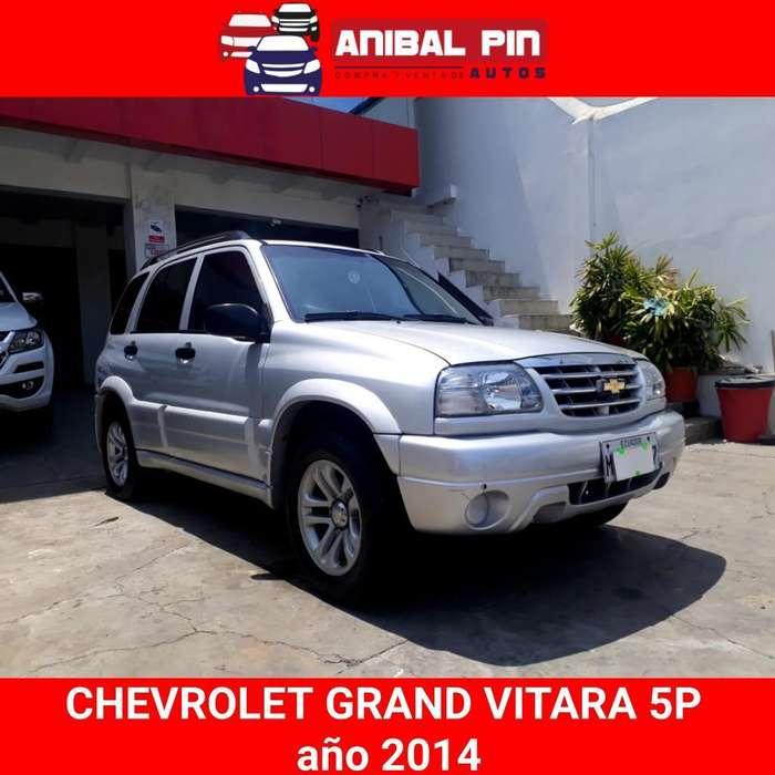 Chevrolet Grand Vitara 2014 - 80000 km