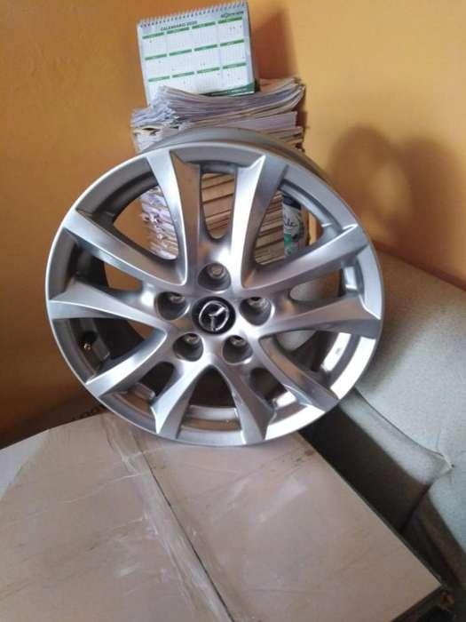 Remato 4 Aros 16 de Mazda 3 Nuevos