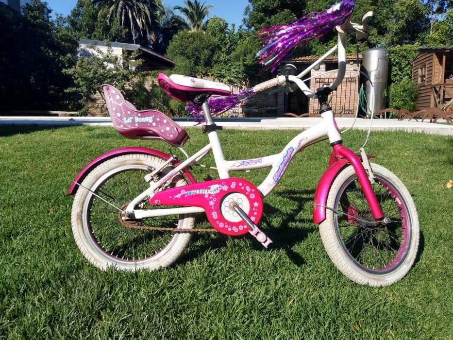 Bicicleta Raleigh Lil Honey Rod 16 Nena