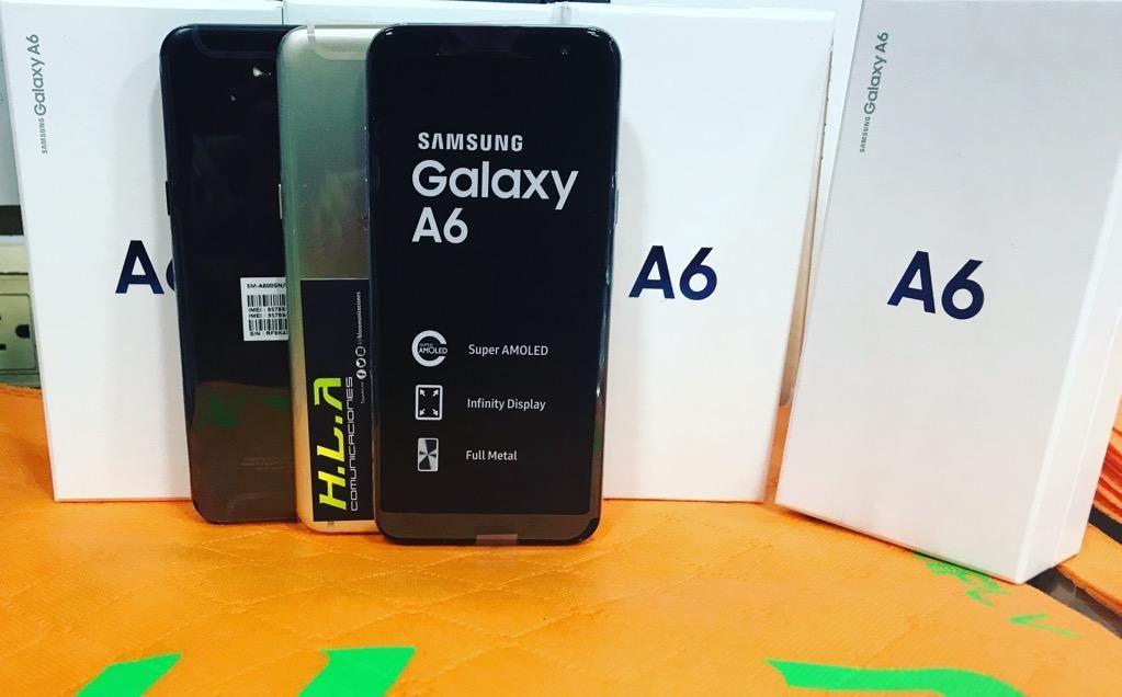 Samsung Galaxy A6 32Gb nuevos factura garantia domicilio sin costo, mate 20 lite HLACOMUNICACIONES