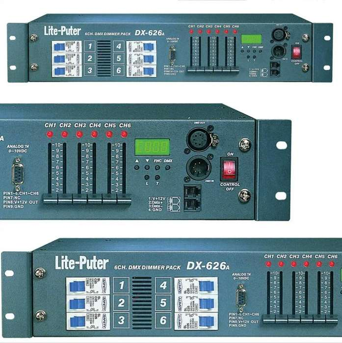 Consola Dimmer Switch Y Dmx