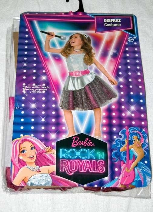 Disfraz Barbie Estrella de Rock