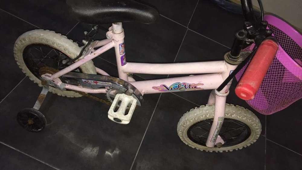 Bici de Nena Rodado 12
