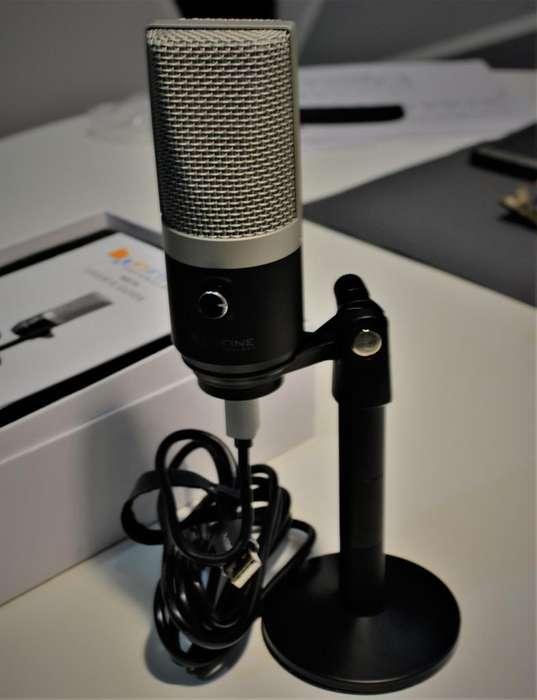 Microfono USB para computadores Youtube - Streaming
