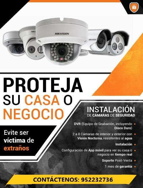 INSTALACIÓN. VENTA, REPARACIÓN, ACTUALIZACIÓN DE CÁMARAS DE SEGURIDAD CCTV