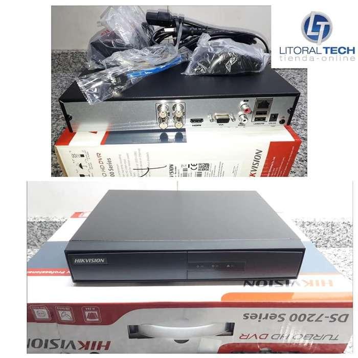 DVR Hikvision x4 , DS-7204HGHI-F1 1080