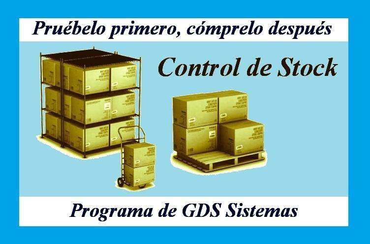 -: Programa para Control de Stock ·/ sin Facturación /· <strong>software</strong> Gds Sistemas