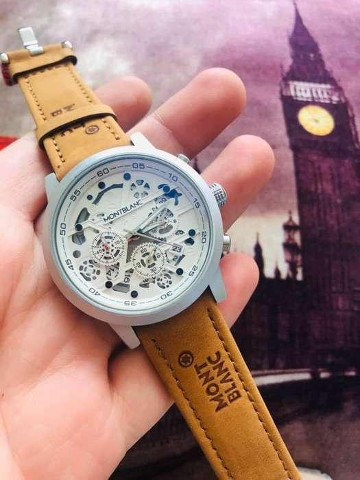 Reloj Montblanc Automatico Y Calendario