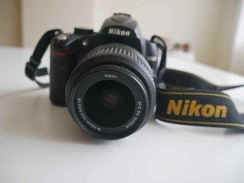 Camara Nikon D5000 (con 2 Lentes)