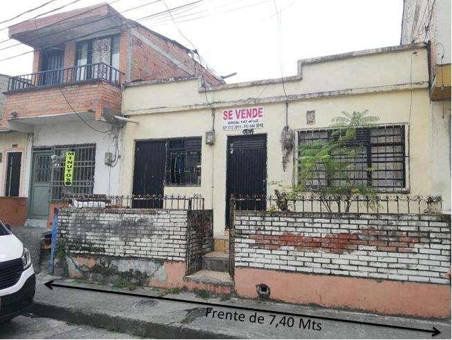 Ganga Casa de 147mts2 en 145M Viejo París Cuba.